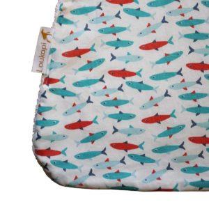 Bavoir Xl magnétique les petits poissons