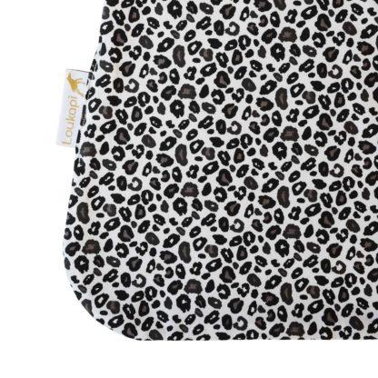 Détail du motif léopard