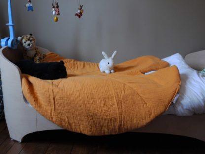 tapis nénuphard plaid