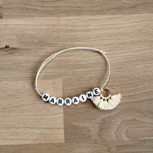 bracelet marraine