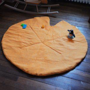 tapis nénuphar de jeu bébé