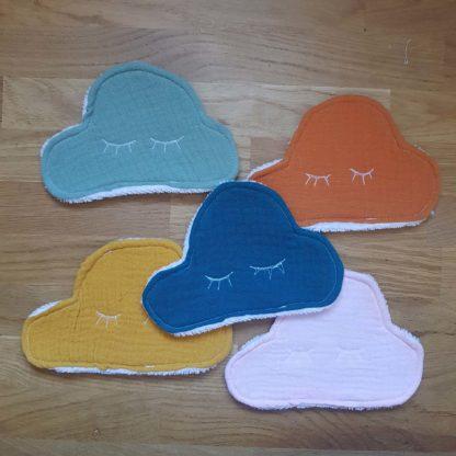 lingette nuage lot multicolor