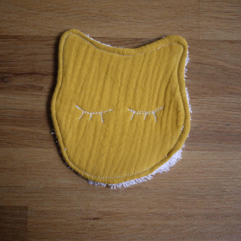 Lingette chat pour se démaquiller