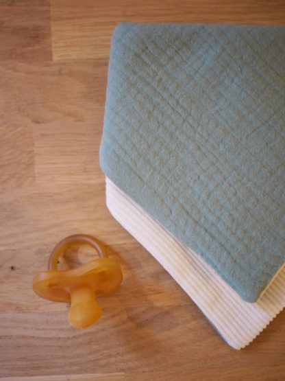 Textures du bavoir bandana loukapi