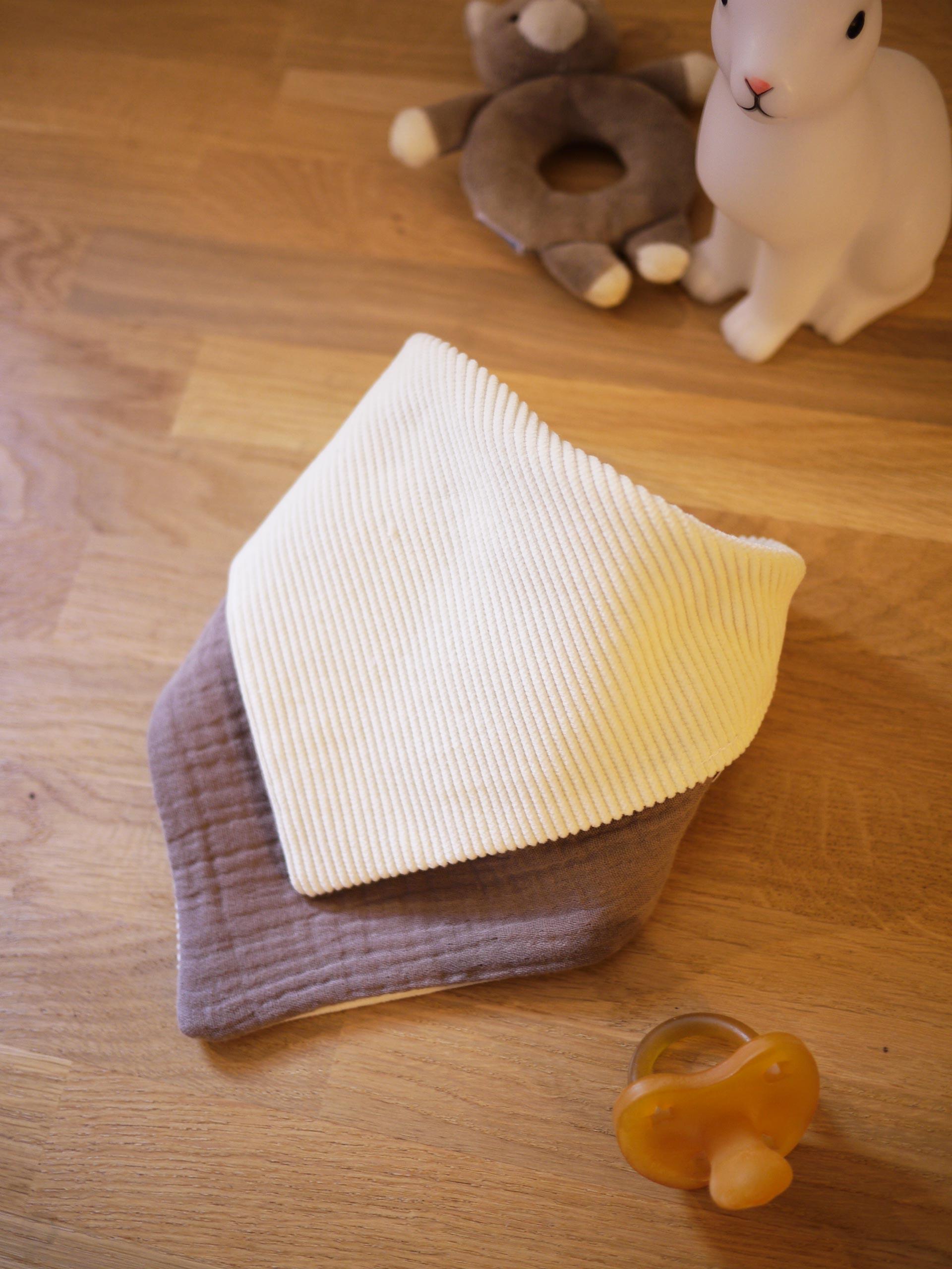 bandana réversible velours tout doux