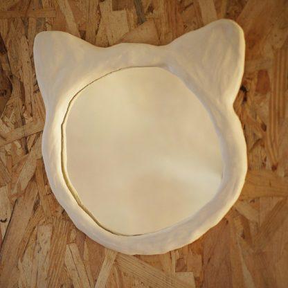 Miroir Chat rond