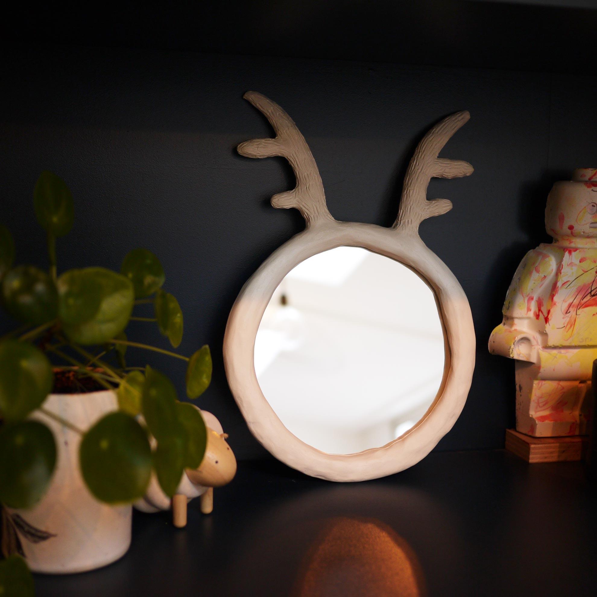 miroir renne artisanal