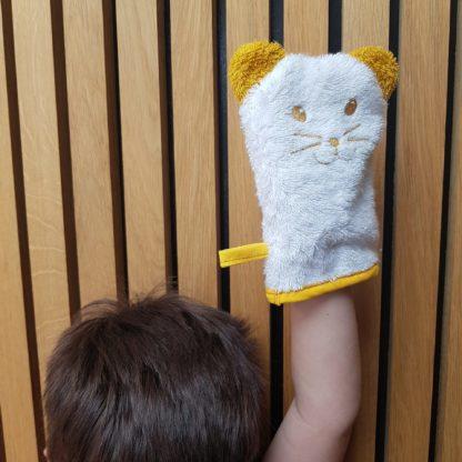 pourquoi ne pas se débarbouiller avec un super gant