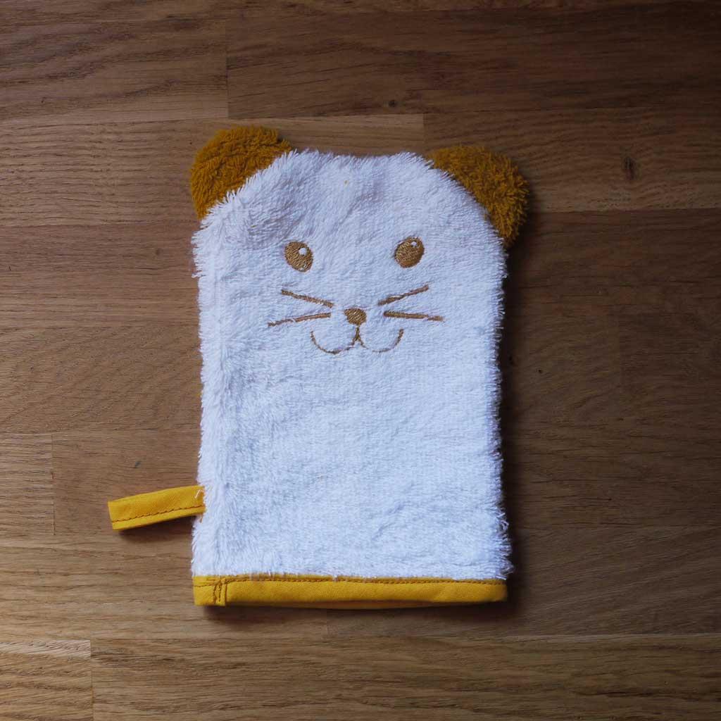 Gant de toilette pour la douche de mini